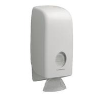 Aquarius White Bulk Pack Toilet Tissue Dispenser 6946