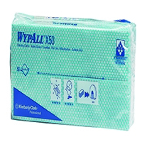 Image for Wypall Green X50 Cleaning Cloths (50 Pack) 7442