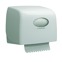 Aquarius White SlimrRoll Hand Towel Dispenser 6953