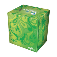 Kleenex White Cube Facial Tissues 56 Sheets (12 Pack) 8825