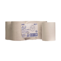 Scott White Slimroll 1 Ply Hand Towel Roll (6 Pack) 6657