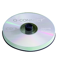 Image for Q-Connect CD-R 700MB/80minutes Spindle (50 Pack)