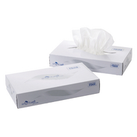 Image for 2 Ply White Facial Tissue Mansize 240 x 275mm 100 sheets (24 Pack) MSF100