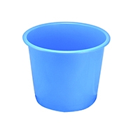 Image for Q-Connect 15 Litre Blue Waste Bin CP025KFBLU