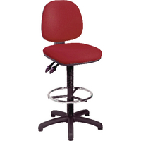 Image for Arista Draughtsman Claret Chair