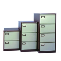 Image for Jemini Coffee/Cream 4 Drawer Filing Cabinet