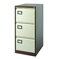 Image for Jemini Coffee/Cream 3 Drawer Filing Cabinet