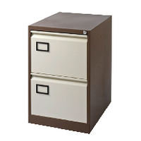 Image for Jemini Coffee/Cream 2 Drawer Filing Cabinet