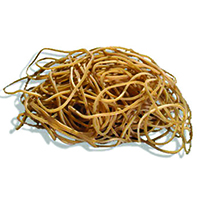Image for Q-Connect 500g No. 22 Rubber Bands ( Pack of 500g Pack)