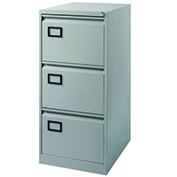 Image for Jemini 3D Filing Cabinet Pl/Grey XK3B