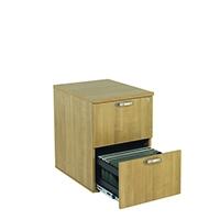 Image for Avior Ash 2 Drawer Filing Cabinet