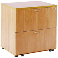 Image for Arista Beech Desk High Side Filer