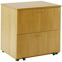 Image for Arista Oak Desk High Side Filer