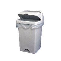2Work White Swing Bin Liners 45 Litres (1000 Pack)