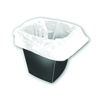 White Square Bin Liners 30 Litres (1000 Pack)