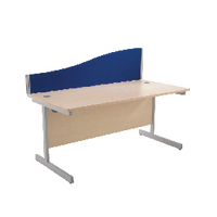 Image for Jemini 1200mm Blue Wave Desk Screen