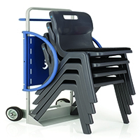 Titan One Piece Chair Trolley