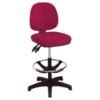Image for Arista Claret Adjustable Draughtsman Chair
