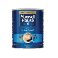 Maxwell House Coffee Granules 750g Tin Rich Blend 64985