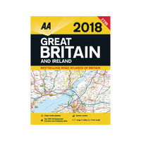 Image for AA Road Atlas Great Britain and Ireland 9780749577834