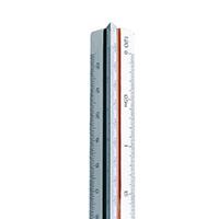 Linex Triangular Scale Rule 500-2500 30cm LXH 314