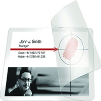 Image for Pelltech Self-Laminating Cards 54x86mm (100 Pack) PLG25230