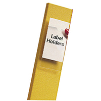 Pelltech Clear/White Label Holders 55x102mm (6 Pack) 25330