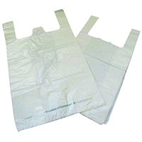 Image for Biodegradable White Carrier Bag (1000 Pack)