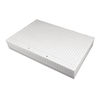 White Ruled A4 Paper Box - 5x Reams