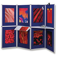 Image for Nobo Blue ProPanel 8 Panel Display System 1901083