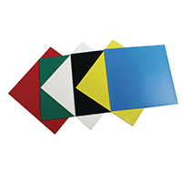 Image for Nobo Assorted Colours 150mm Magnetic Squares (6 Pack) 1901104