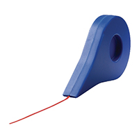 Image for Nobo Red 1.5mmx10m Self-Adhesive Gridding Tape 1901119