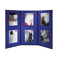 Image for Nobo Blue Lightweight Showboard Extra 3 Panel 1901710