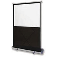 Image for Nobo Floor-standing Screen W1620xH1220mm Portable Grey 1901956
