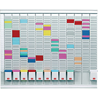 Image for Nobo 12 T-Card Panel Maxi Office Planning Kit 800x730mm 32938864