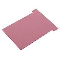 Image for Nobo Pink A110 Size 4 T-Cards (100 Pack) 32938927