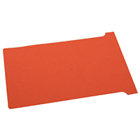 Image for Nobo Red A110 Size 4 T-Cards (100 Pack) 32938928