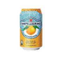 San Pellegrino Aranciata Orange 330ml Cans (24 Pack) 12166832