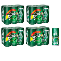 Perrier Sparkling Water 33cl Can (24 Pack) 11648958