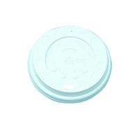 Nupik-Flo White Sip-Through Lids 9oz (100 Pack) SIPTHRO09