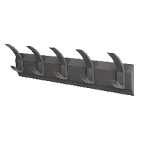 Image for Acorn Wall Mounted Coat Rack With 5 Hooks 319875