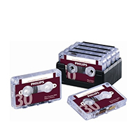Image for Philips Dictation Cassette 30 Minutes (10 Pack) LFH0005/30