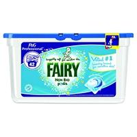 Fairy Non-Biological Liquitabs Tub of 42 (3 Pack) 4084500799516