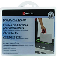 Rexel Non auto oiling Oil Sheets (20 Pack) 2101949