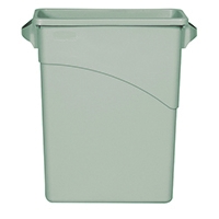 Image for Rubbermaid Slim Jim Container 60 Litre Grey 3541-GRY/R001192