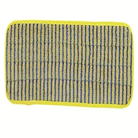 Rubbermaid Microfibre 400mm Scrubber Mop Head Yellow