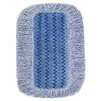 Rubbermaid Hygen Microfibre High Absorbency Mop Head 400mm Blue R050647