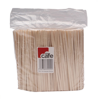 Wooden Coffee Stirrers (1000 Pack) EIWS