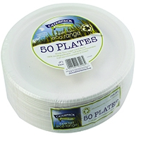 Super Rigid 9 Inch Biodegradable Plate (50 Pack) 3864