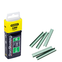 Image for Stanley SharpShooter Heavy Duty 8mm 5/16in Type G Staples (1000 Pack) 1-TRA705T